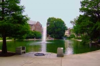 Mirror Lake at OSU