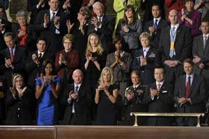 2012 State of the Union -Photo AP/Susan Walsh