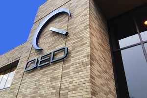 Contact us QED Building Front