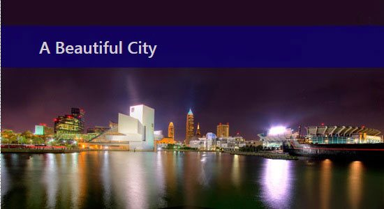 cleveland panorama © David Ploenzke - All Rights Reserved - Used by Permission