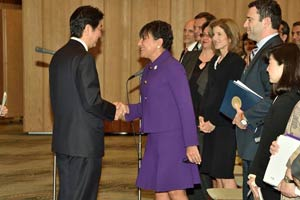 Secretary Pritzker and Prime Minister Shinzō Abe